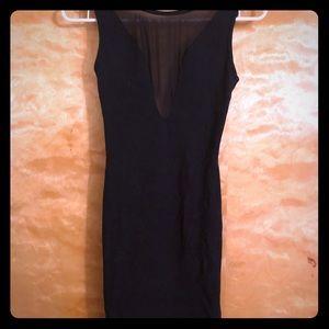 NEW American Apparel Black cocktail dress.